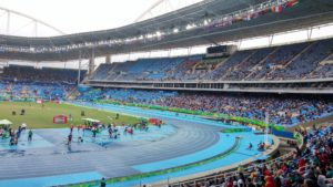 Olympic Stadium empty seats