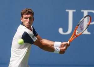 Pablo Carreno Busta at the US Open, 2017