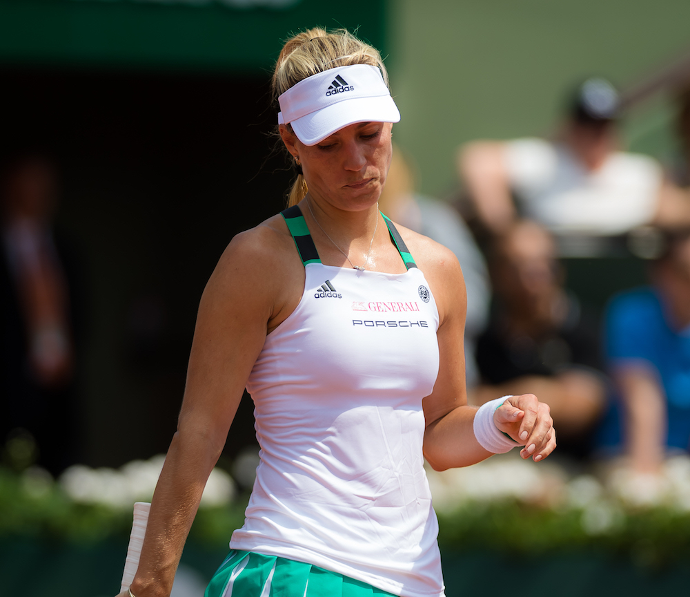 World number one Kerber out of French Open after first round
