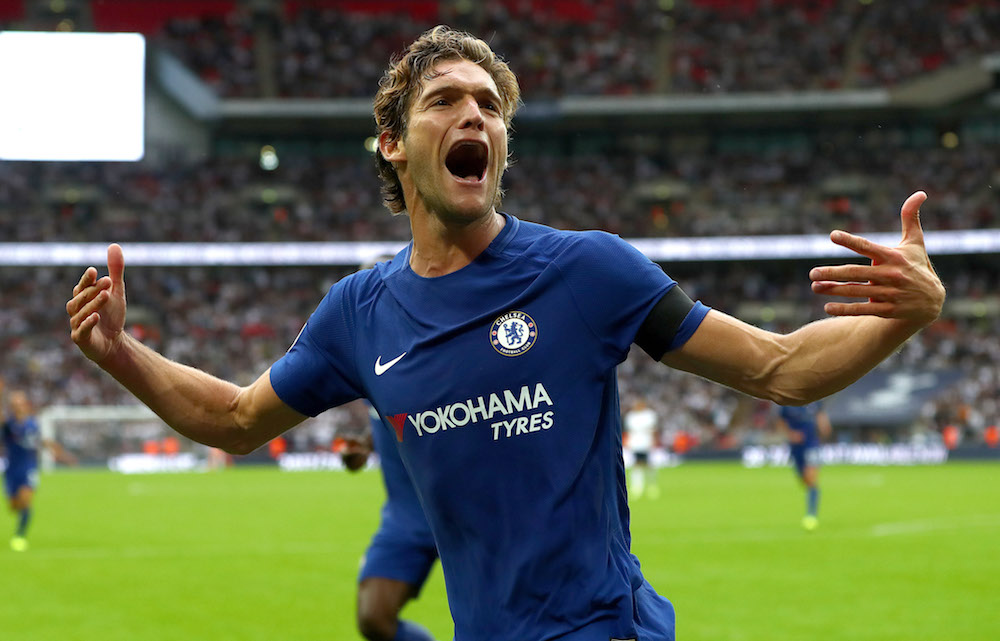Marcos Alonso of Chelsea, Premier League Match-week 2 2017