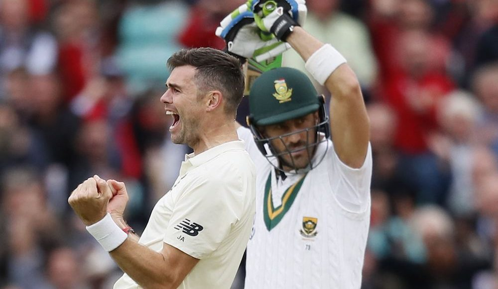 James Anderson, England v South Africa 2017