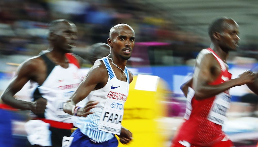 Mo Farah, IAAF World Championships, London, Athletics Results, Athletics scores