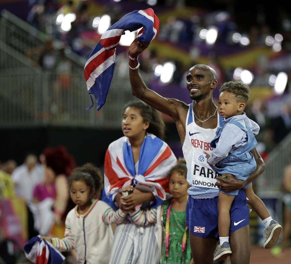 Mo Farah, IAAF World Championships London 2017, Athletics News, Athletics Results
