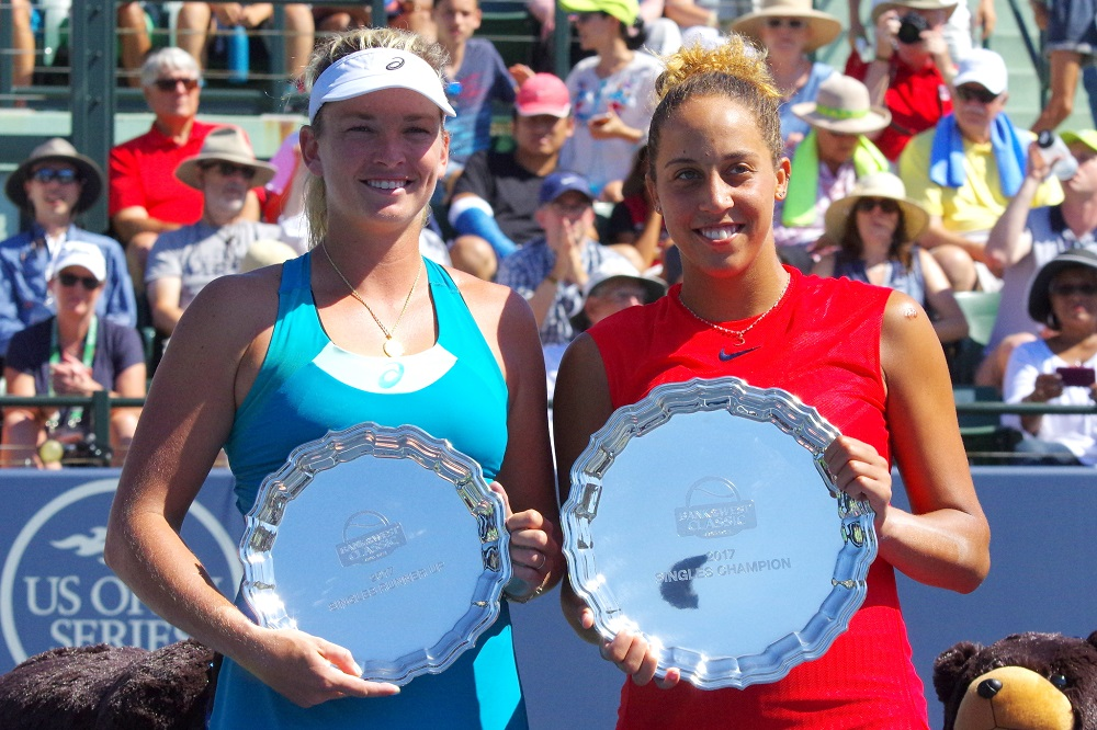 Madison Keys & Coco Vandeweghe, WTA Stanford, Bank of the West Classic 2017
