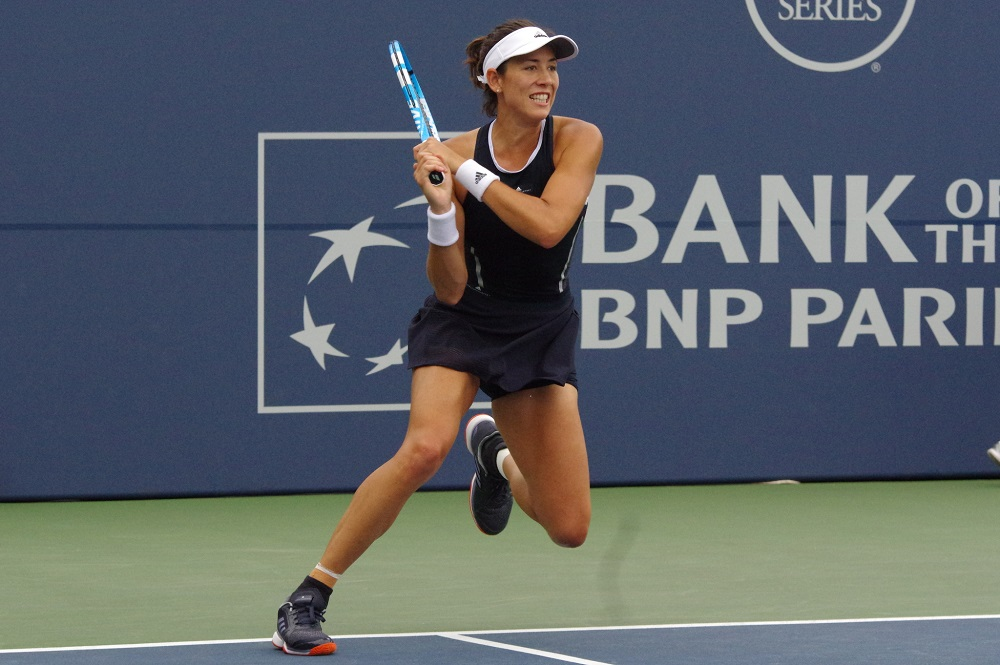 Muguruza storms into Stanford Classic semi-finals