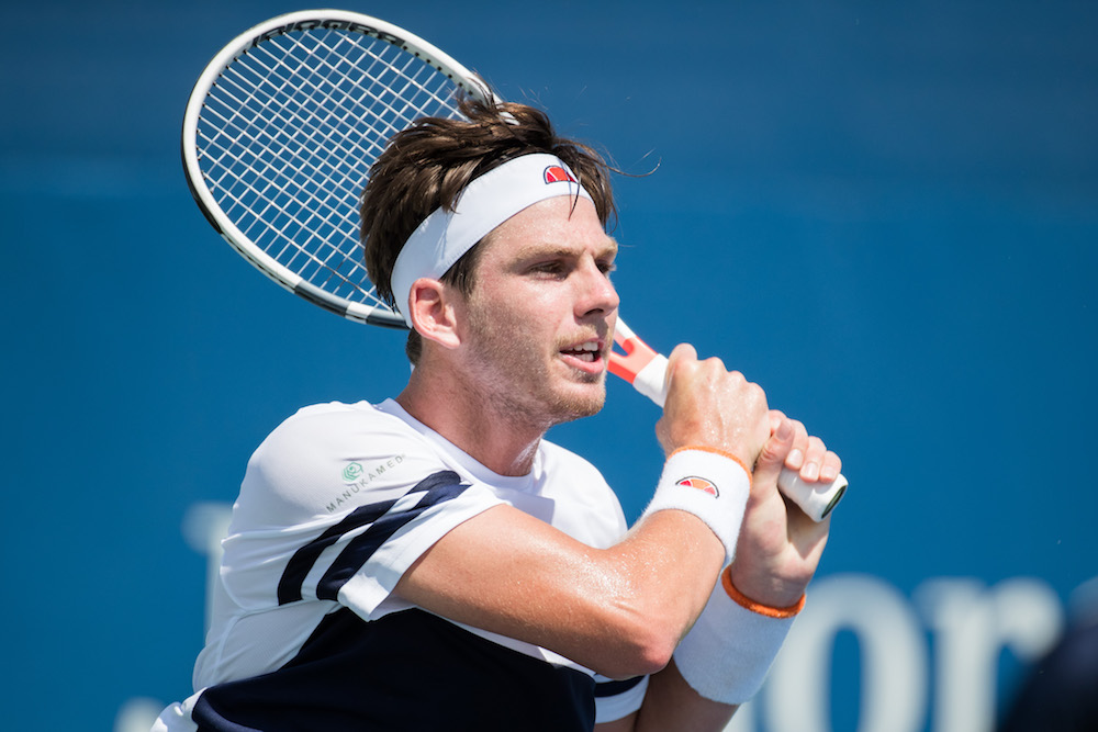 Cameron Norrie, US Open 2017, Flushing Meadows, New York