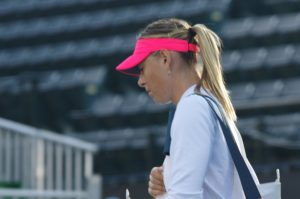Maria Sharapova, WTA Stanford, Bank of the West Classic
