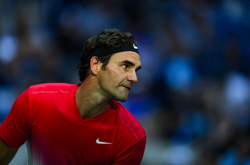 Roger Federer US Open 2017, Flushing Meadows, New York