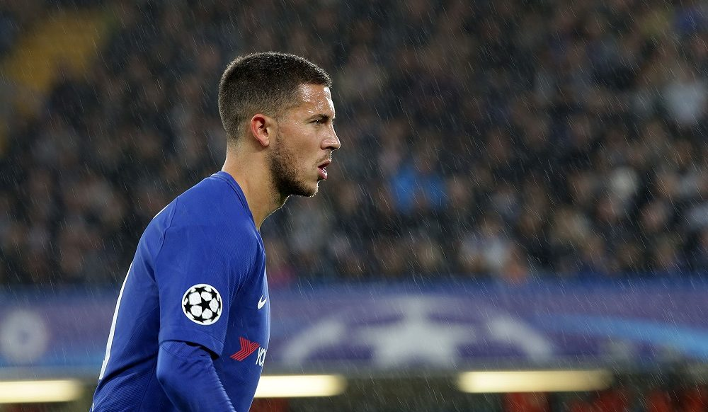 Eden Hazard Chelsea, Champions League 2017