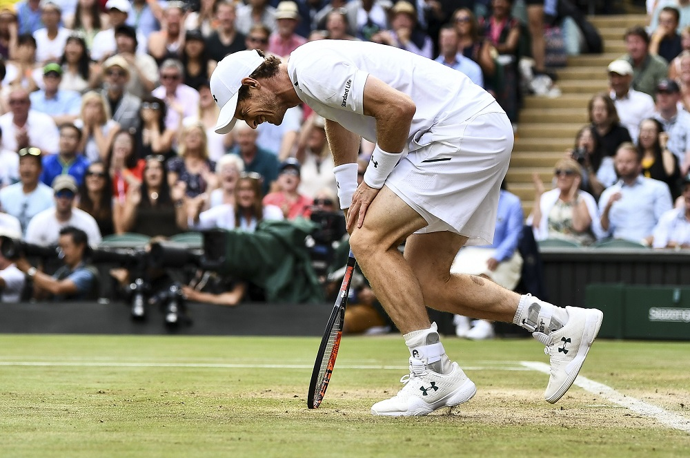Andy Murray, Wimbledon 2017, London