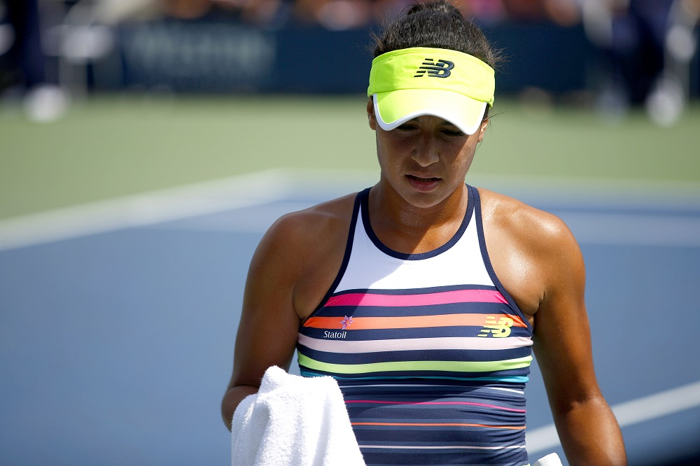 Heather Watson US Open 2017, Flushing Meadows, New York