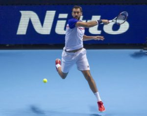 Marin Cilic at the 2017 Nitto ATP World Tour Finals, London