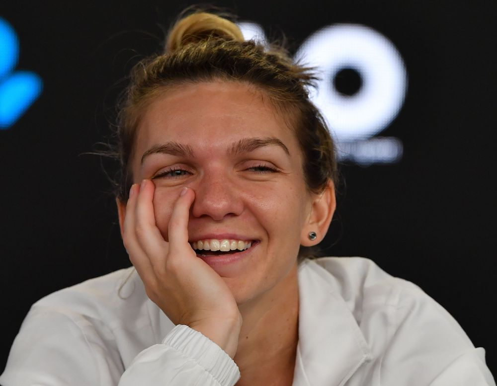 Simona Halep in her post-match press conference after losing the Australian Open final, 2018