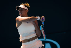 Madison Keys at the Australian Open, 2018
