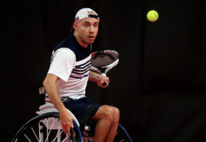 Andy Lapthorne at The NEC Wheelchair Tennis Masters 2017