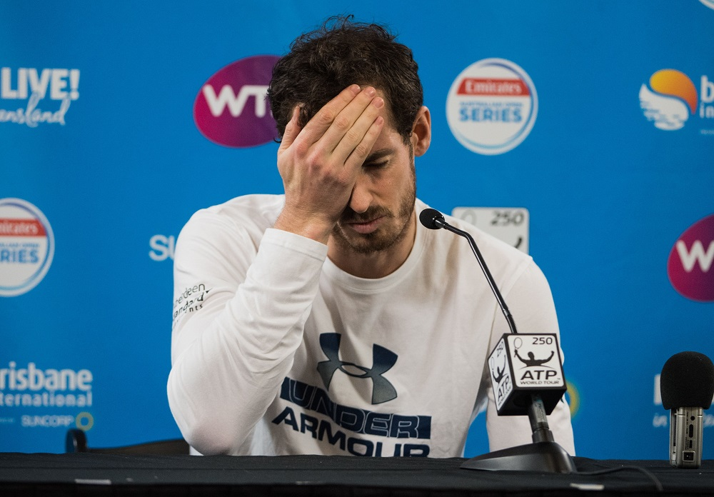 Andy Murray, Brisbane Press conference, 2017