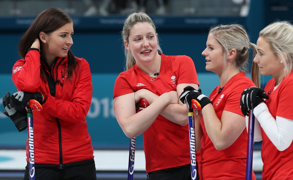 GB Women's Curling Team at the PyeongChang Winter Olympics, 2018
