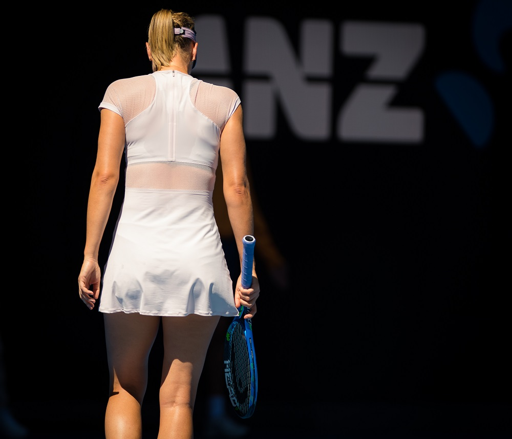 Maria Sharapova at the Australian Open, 2018