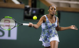 Venus Williams in the semi-final of the BNP Parobas Open, WTA Indian Wells
