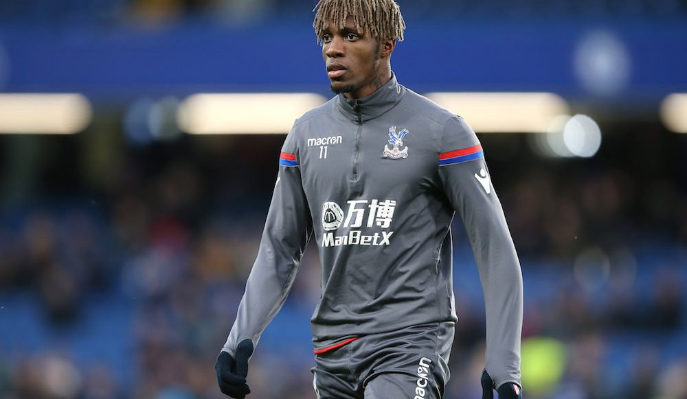 Wilfried Zaha of Crystal Palace, Premier League 2018
