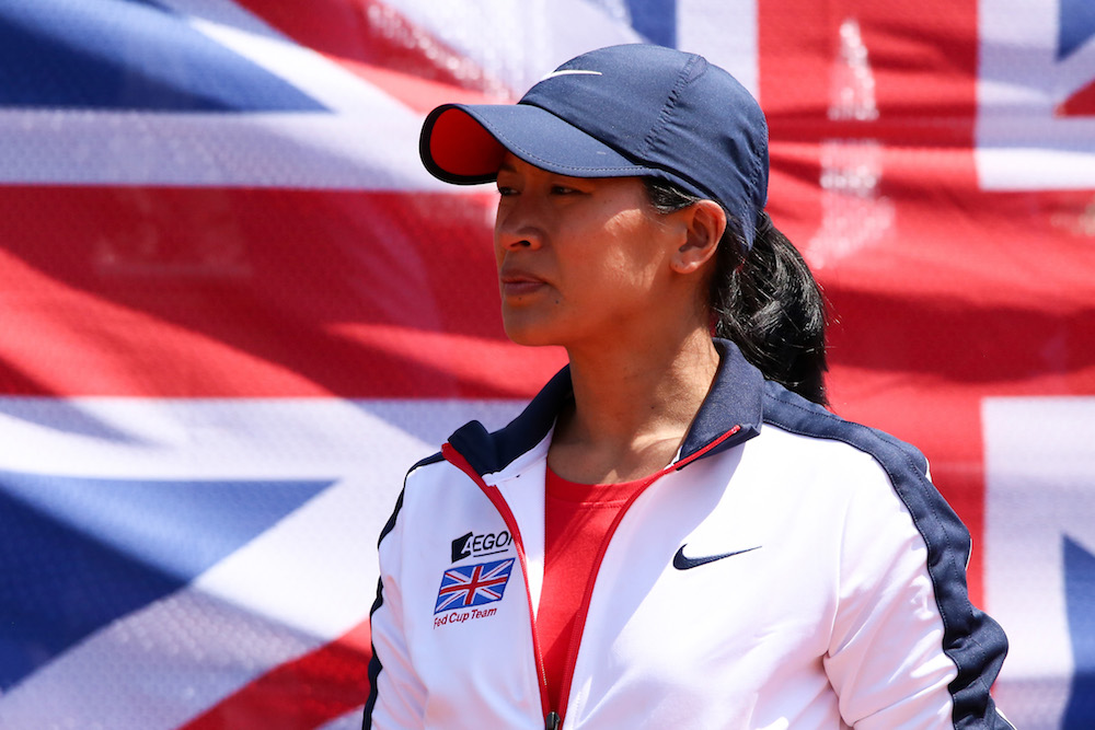 Anne Keothavong, GB Fed Cup Team Captain