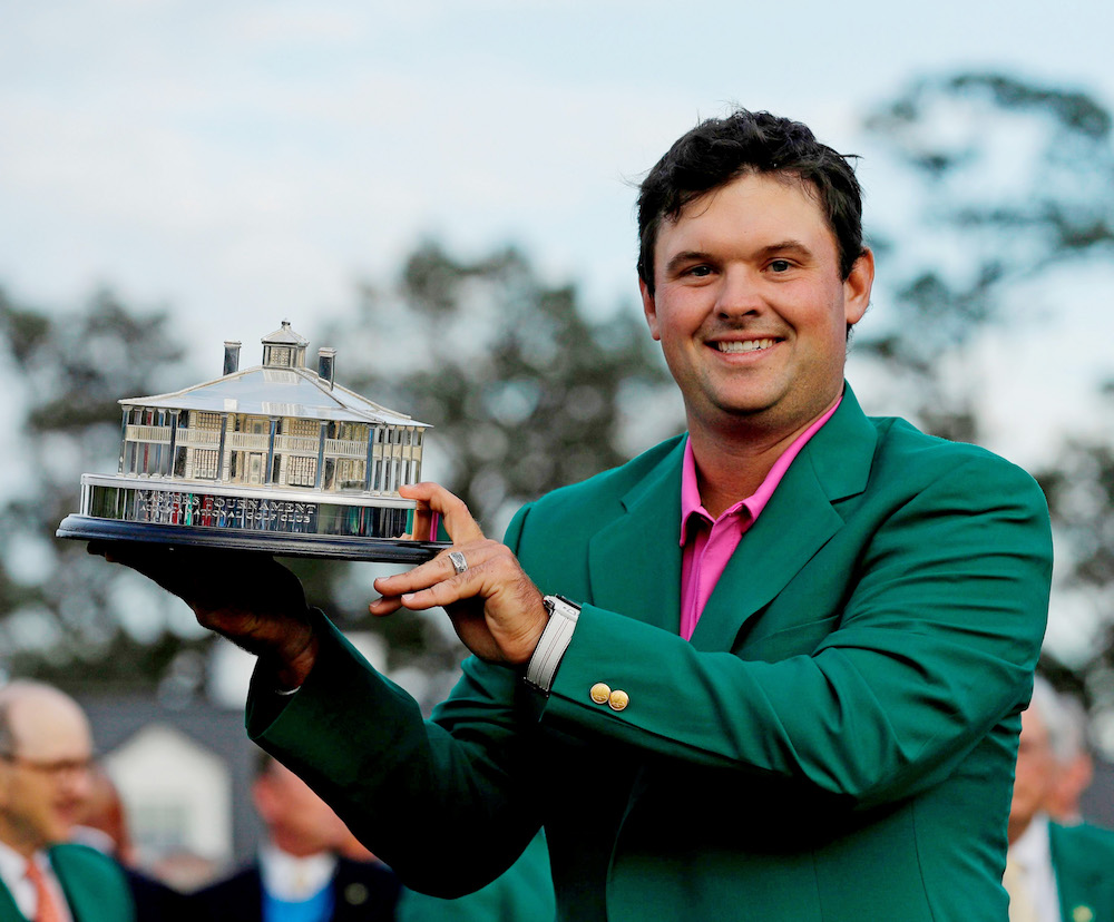 Patrick Reed after winning the Masters, Augusta 2018