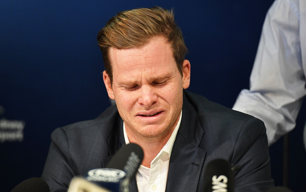 Steve Smith Press Conference after being sacked as Australian captain and being sent home in disgrace
