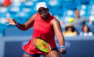 Taylor Townsend at the Western & Southern Open, WTA Cincinnati 2017