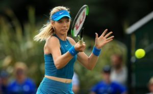Katie Boulter in the quarter-final of the Nature Valley Open, WTA Nottingham 2018