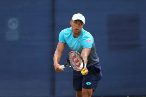 Jay Clarke in the Nature Valley Open, ATP Challenger Nottingham 2018