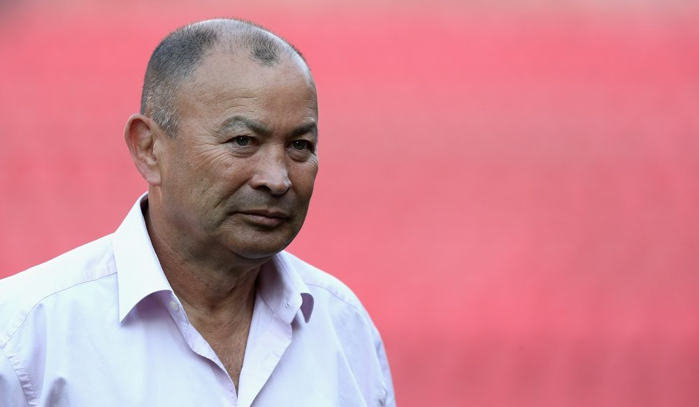 Eddie Jones, England Head Coach during the fourth test between South Africa & England 2018