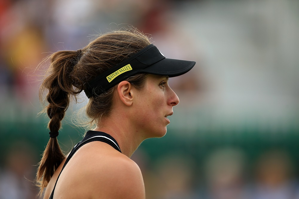Johanna Konta at the Nature Valley Open, WTA Nottingham 2018