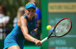 Donna Vekic in the quarter-final of the Nature Valley Open, WTA Nottingham 2018