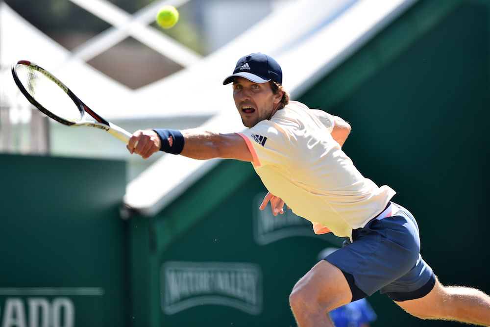 Mischa Zverev in the final of the Nature Valley International, ATP Eastbourne 2018