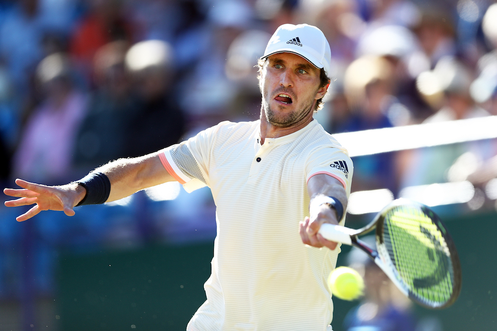 Mischa Zverev in the semi-final of the Nature Valley International, ATP Eastbourne 2018