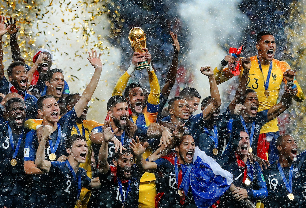 France win the World Cup, 2018