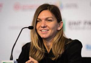 Simona Halep during the Media All Access day, WTA Finals 2018 Singapore