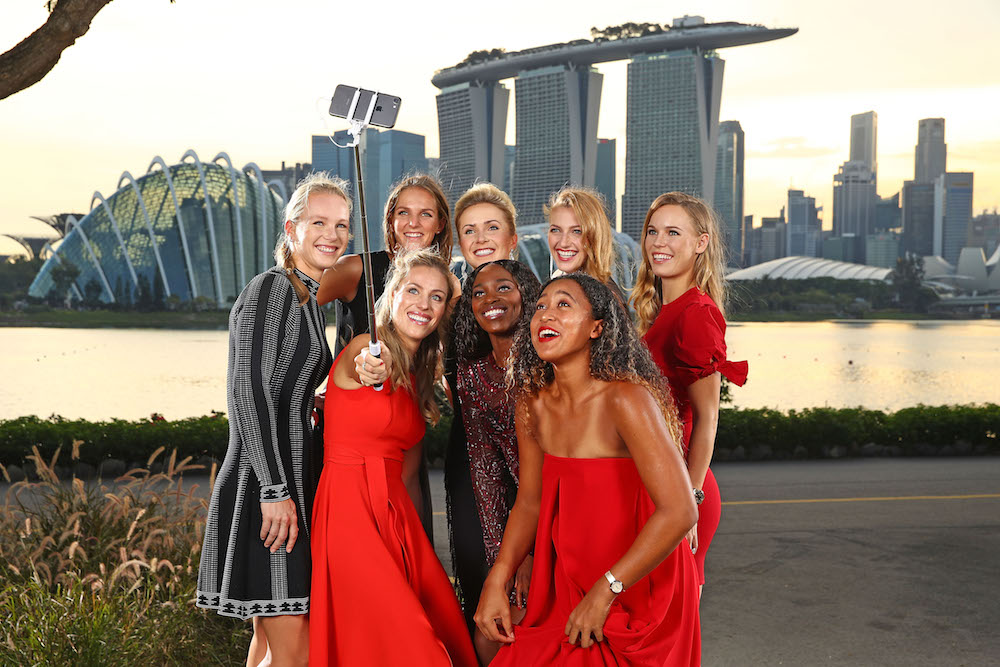 The final eight WTA players for the BNP Paribas 2018 WTA Finals