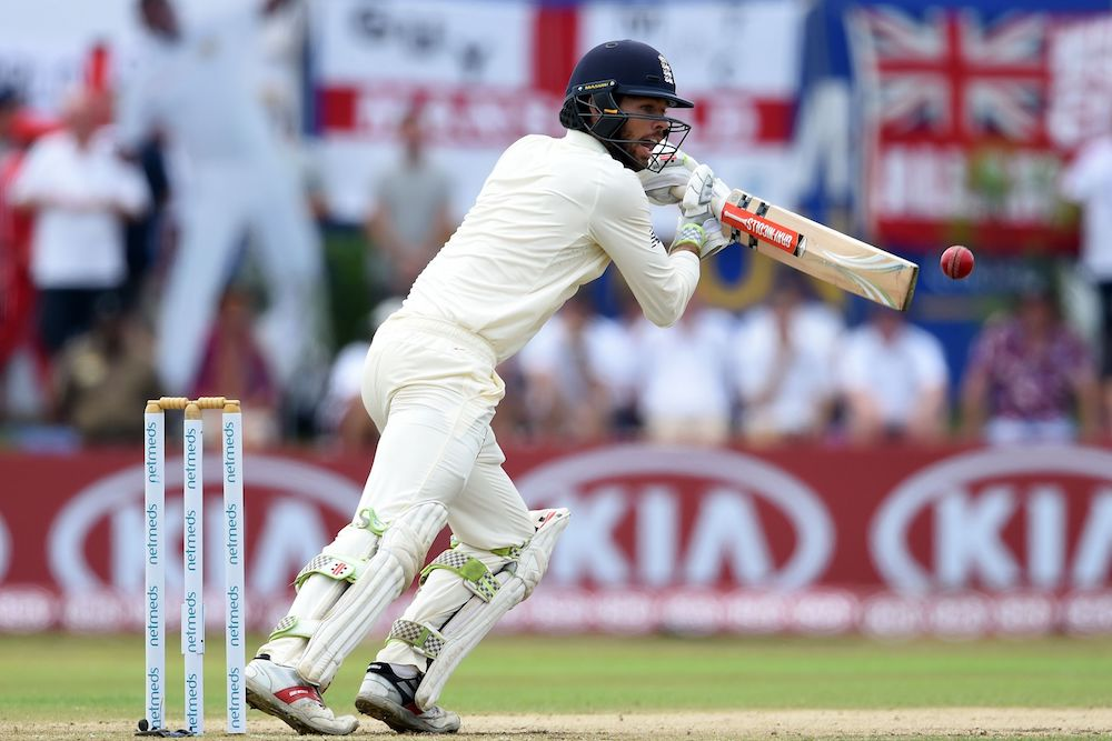 Ben Foakes in the first test between Sri Lank and England, 2018