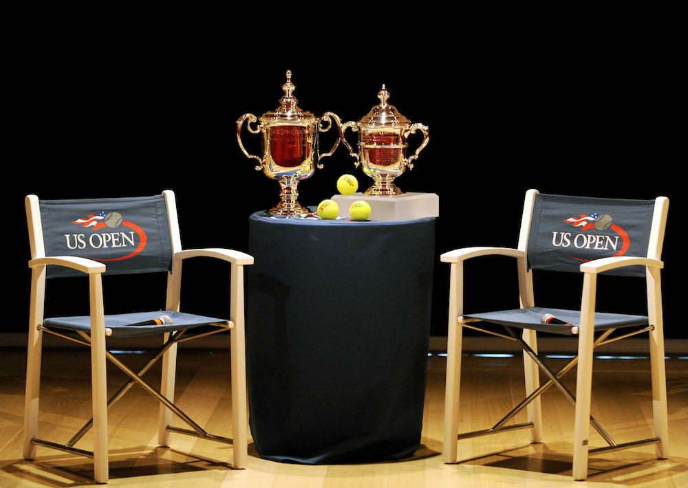 The US Open Tennis Championships Trophies