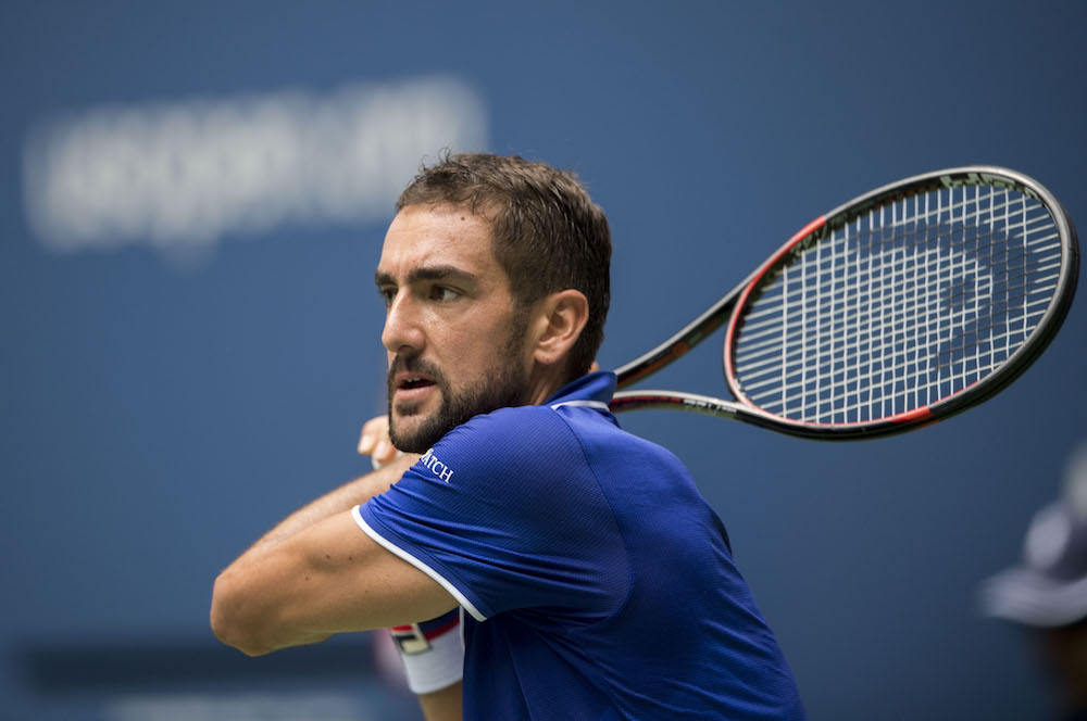 Marin Cilic at the 2017 US Open Marin Cilic