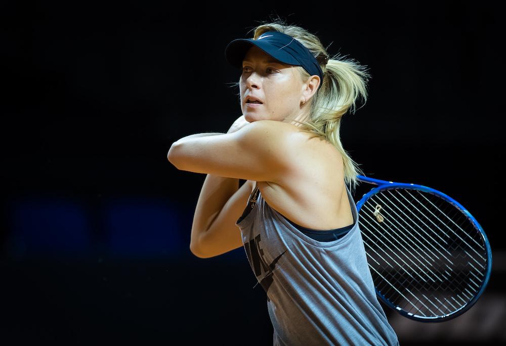 Maria Sharapova, WTA Stuttgart 2017