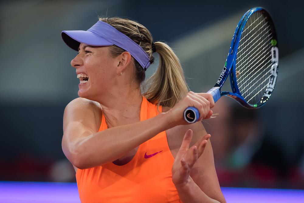 Maria Sharapova, WTA Stuttgart Porsche Tennis Grand Prix, 2017