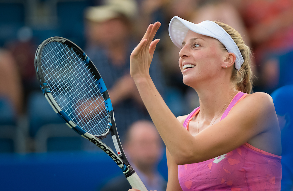 Naomi Broady ay the Aegon Classic, WTA Birmingham 2017