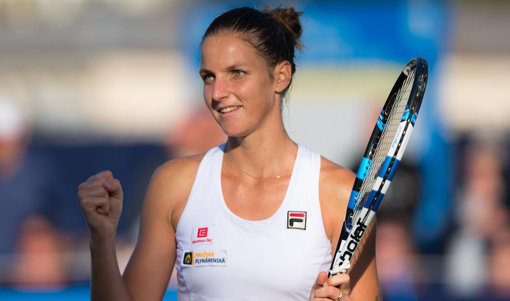 Karolina Pliskova WTA Eastbourne, 2017