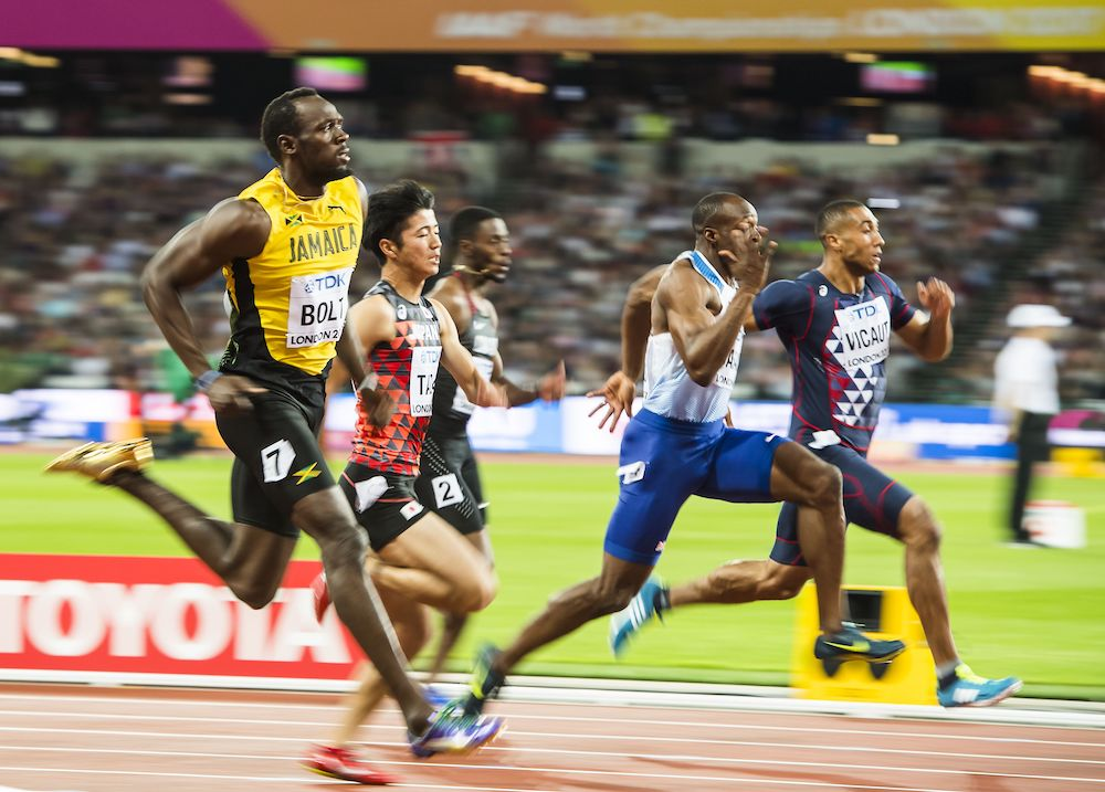 Usain Bolt, IAAF World Championships London 2017, Athletics Results, Athletics News
