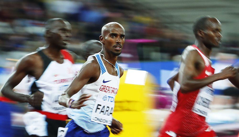 Mo Farah, IAAF World Championships, London, Athletics Results, Athletics scores