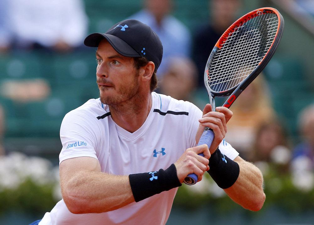 Andy Murray Roland Garros 2017