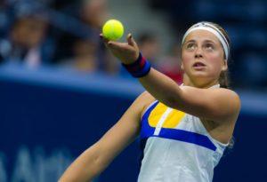 Jelena Ostapenko US Open 2017, Flushing Meadows, New York