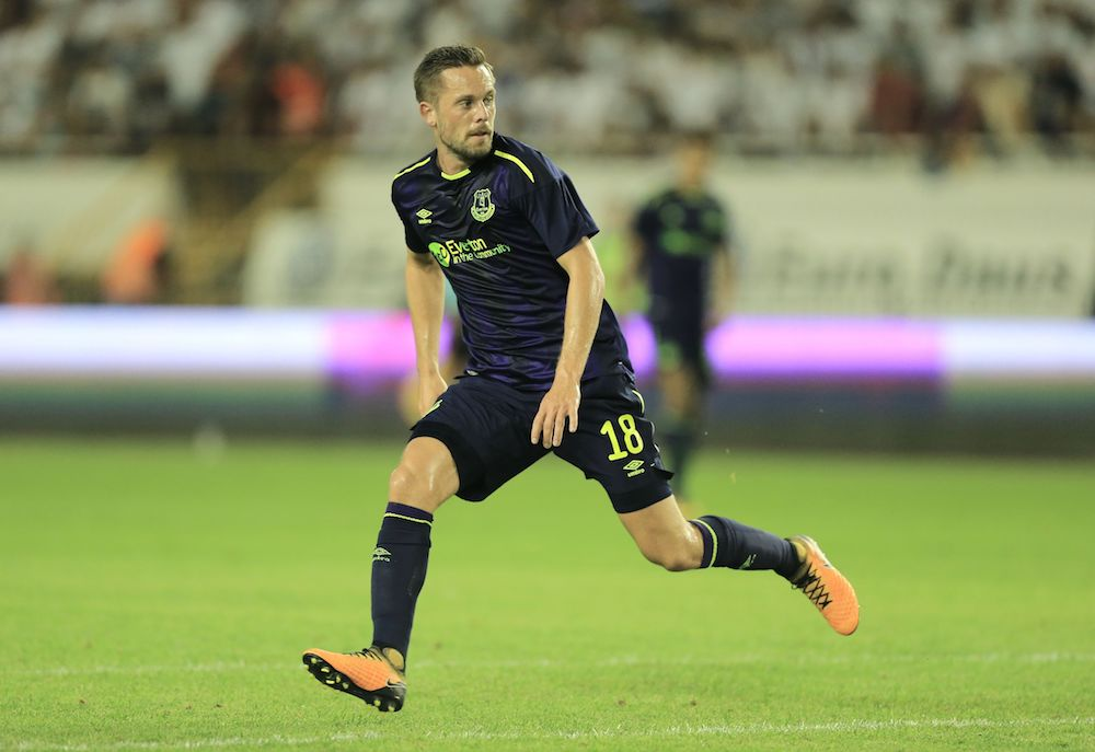 Gylfi Sigurdsson of Everton 2017